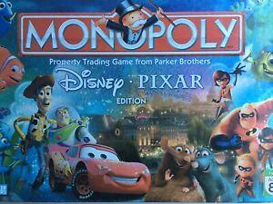 Parker/Hasbro 2007 Monopoly Disney-PIXAR Edition Replacement Spare Parts Pieces