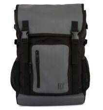 """FUL Alpha Laptop Backpack 17"""" - Gray / Black"""