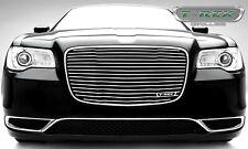 For 2015-2018 Chrysler 300 Polished Aluminum Grille