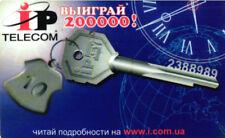 3416 SCHEDA USATA RUSSIA INTERNET CARD IP KEY HARD PVC