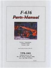 Traverse Forklift F-636 Parts Manual