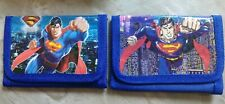 Childrens wallet Superman lot of 2 see photos Brand New
