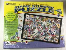 Us Postage Stamp Collectors Stamp Stumper Jigsaw Puzzle 250 Pieces 2007 Stamps