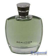 REALITIES FOR MEN AFTERSHAVE LOTION SPRAY UNBOX 3.4/3.3 NEW NO BOX SAME AS PICT
