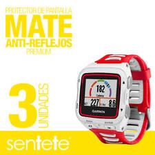 Sentete® 3x Garmin Forerunner 920XT Protector de Pantalla MATE PREMIUM