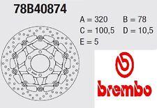 Coppia Dischi Freno BREMBO Serie Oro  Triumph 955 SPEED TRIPLE 99 > 01