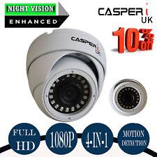 CASPERi FULL HD 1080P Dome CCTV Camera 2MP New IR Wide Angle 3.6mm Night Vision