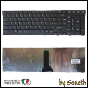 TASTIERA PER TOSHIBA TECRA R850 R850-10R R850-1HU R850-11H R850-1L6 NERA FRAME