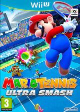 Mario Tennis Ultra Smash (nintendo Wii U 2015 Dvd-box)