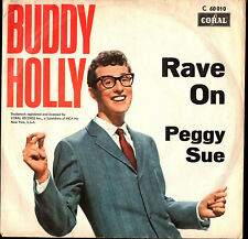 BUDDY HOLLY  SINGLE  CORAL  ' RAVE ON / PEGGY SUE '  [All.]