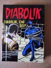 DIABOLIK n°8 Diabolik, Chi sei? edizione MIGNON cartonato Lo Scarabeo [C71