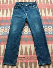 Vtg Levi's 501xx Jeans Button Fly Red Tab 90's Blue Denim 28x30 Made In USA