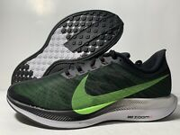 Nike Air Zoom Pegasus 35 Turbo Running Shoes Black AJ4114-004 Men's Size 12 US