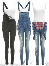 Latzhose Frau Jeans über Alle Anzug Schlafanzug Rock Mini Sexy Neu Df9601 Overalls Kleidung & Accessoires
