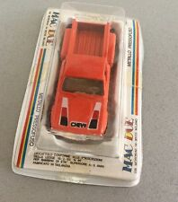 VINTAGE 80s# YATMING MAC DUE CHEVROLET CHEVY PICK UP ORANGE  1:64# NIB RARE