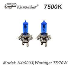GP Thunder II 7500K H4 9003 Xenon Light Bulb Pair 70W 75W Super White GP75-H4