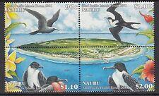 BIRDS :NAURU 2001 Pacific Islands Forum ( Birds)  set SG522-5 never-hinged  mint