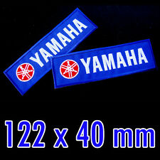 1x YAMAHA Super Blue Color Advertising Iron On Patch Biker Racing MotoGP YZF-R15