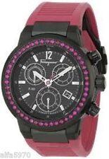 Salvatore Ferragamo Chronograph Ruby Watch - $4675 - F55LCQ68R09 SR22 F-80