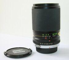 Vivitar 35-105mm Wide Angle Manual Zoom Macro Lens.Olympus OM Mount OM1,OM10 etc