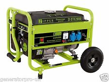 Zipper Power ZI-STE2800 Petrol Generator High End Brand - With Handle & Wheels