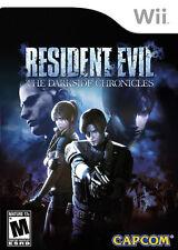 Resident Evil: Darkside Chronicles WII New Nintendo Wii