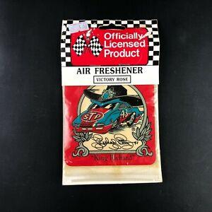 Vintage King Richard Petty Victory Rose Air Freshener Hanging Car Vehicle NOS