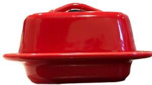 Chantal Mini Butter Dish True Red