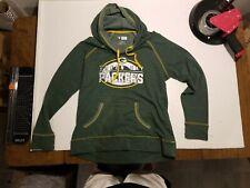 Green Bay Packers Women's Hooded Sweatshirt NFL TEAM APPAREL Choice Medium