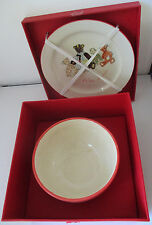 COUNTRY CORNER DECORATION & EMOTION CHILD'S PLATE & BOWL SET - FRANCE - #3