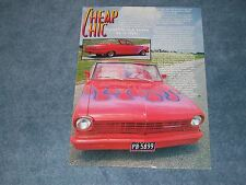 "1962 Chevy II Nova Convertible Article ""Cheap Chic"""
