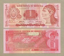 HONDURAS  1 Lempira  2010  P89b  Uncirculated  Banknotes