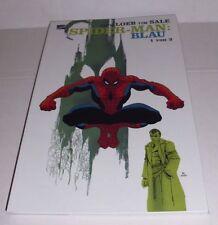 Comic Pack Spider-Man azul Blue 1-3 Jeph Loeb tim sale Marvel Panini 2002 dt Z 1