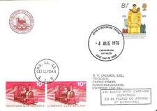 1976 TOPICAL RAILROAD WELSH RAILWAY GREAT BRITAIN COVER