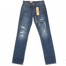 Levis Mens Jeans 511 Rip & Repair Comeback Kidd Slim Size 28x32