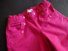 VERTBAUDET superbe couleur rose culotte Hosenrock 7/8 Pantalon Taille 5ans 108 cm