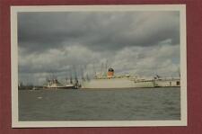 Clan Macdougall & Franconia, Southampton docks 1966  photograph   qb.549