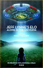Jeff Lynne'S Elo Alone In The Universe Ltd Ed Discontinued New Rare Litho Poster