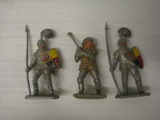 Lot figurines Lone Star Harvey moyen age MEDIEVAL KNIGHTS VINTAGE TOY SOLDIERS