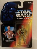 """Kenner Star Wars C-3PO Action Figure The Power of the Force 3 3/4"""" Tall 1995 NIB"""