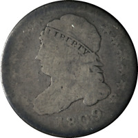 1809 Capped Bust Dime Choice AG/G Key Date Nice Eye Appeal Nice Strike