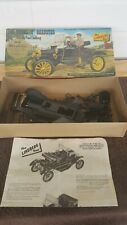 Vintage Lindberg 1911 Ford Model T Roadster Motorized Model Kit #676M:249