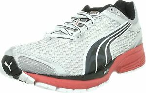 Puma Complete SLX Setsuna LST Silver Mesh Running Shoes Trainers UK 7 - 9.5