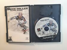 Bode Miller Alpine Skiing (Sony PlayStation 2, 2006) PS2 - COMPLETE CIB !!