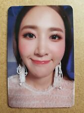 SNSD YURI #3 Official PHOTOCARD THE FIRST SCENE 1st Album Girl's Generation 유리