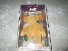 "Gund 2000 Christmas Collector's 9"" Plush Bear Yulebearyâ""¢8900 Nib"