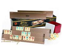 Star Spezial Gold Edition Holz Rummy / OKEY mit Melamin Steine AHSAP OKEY TAKIMI