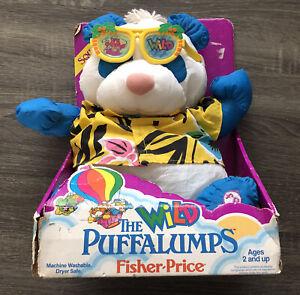 Vintage 1987 Fisher-Price The Wild Puffalumps Panda Bear