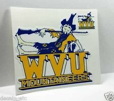 West Virginia University Mountaineers Vintage Style Vinyl DECAL / STICKER
