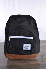 Herschel Supply Company Pop Quiz Backpack Black/Tan Laptop Padded Zip Pockets